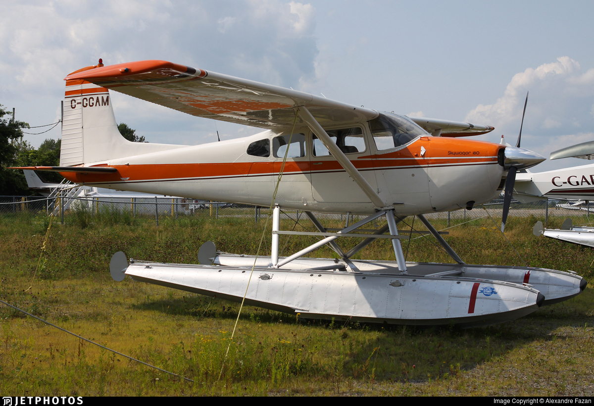 C-GGAM - Cessna 180H Skywagon - Private