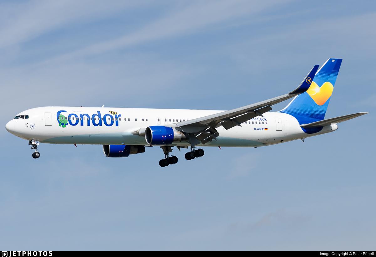 D-ABUF - Boeing 767-330(ER) - Condor