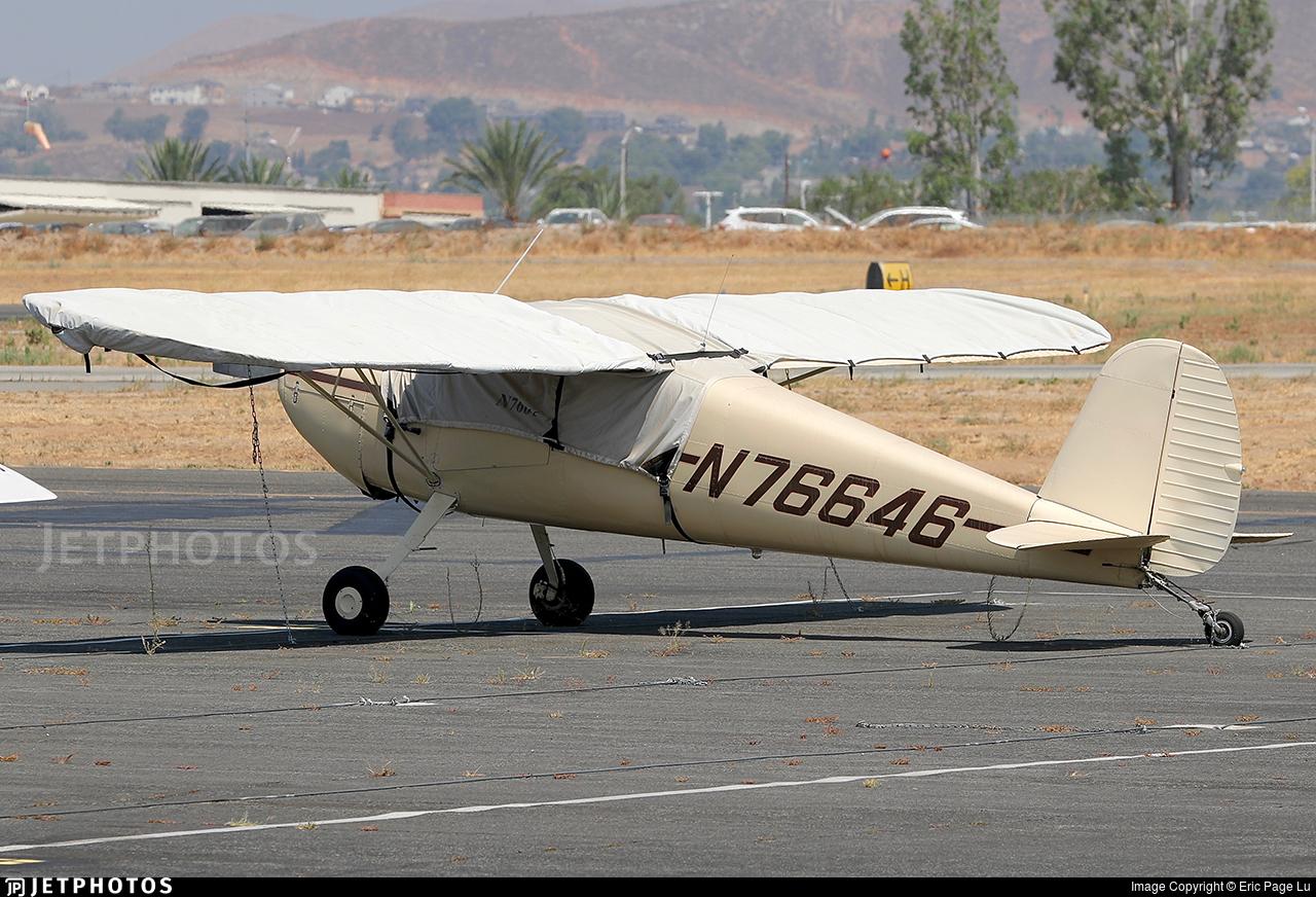 N76646 - Cessna 120 - Private