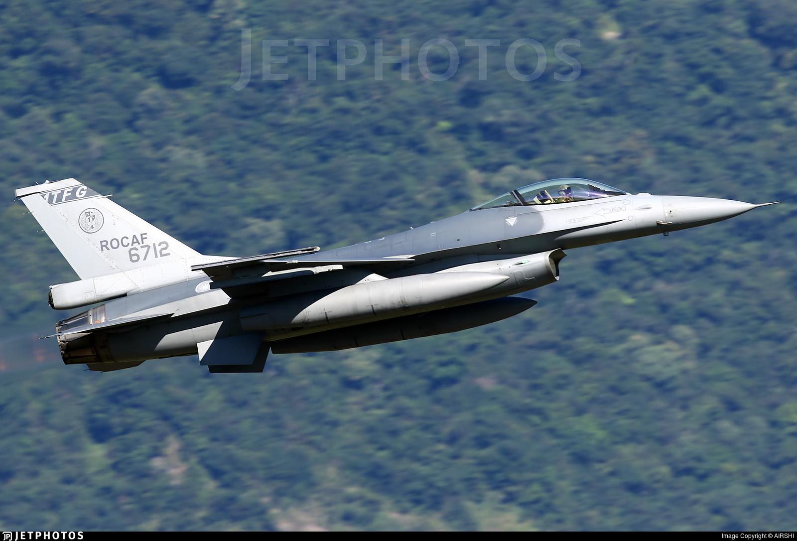 6712 - General Dynamics F-16AM Fighting Falcon - Taiwan - Air Force