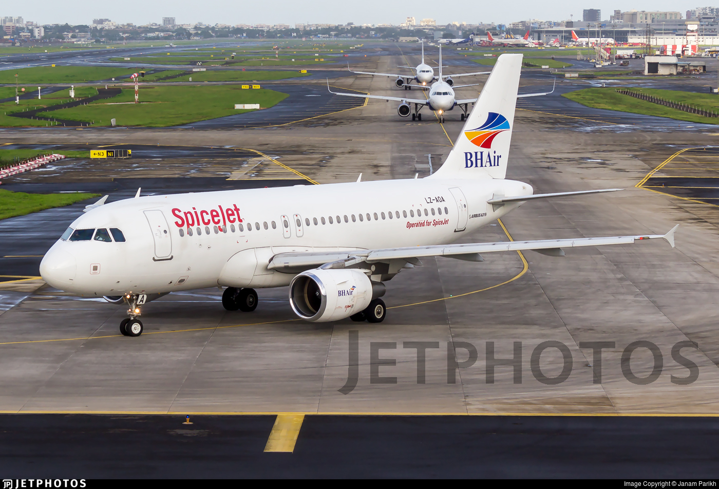 LZ-AOA - Airbus A319-111 - SpiceJet