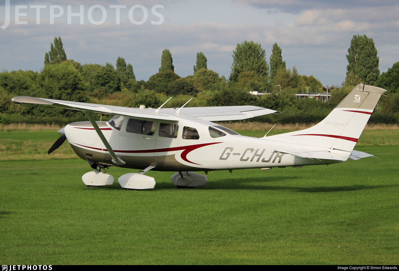 G-CHJK - Cessna T206H Stationair TC - Private