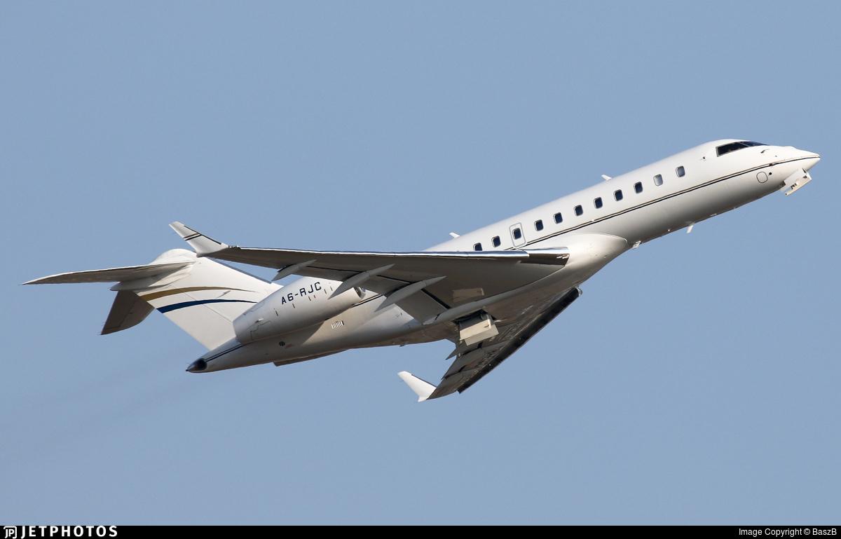 A6-RJC - Bombardier BD-700-1A11 Global 5000 - Royal Jet