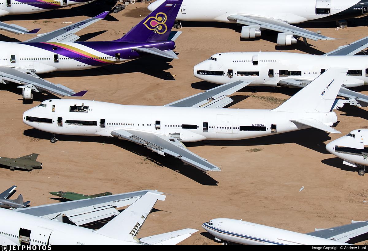 N716SA - Boeing 747-228B - Southern Air