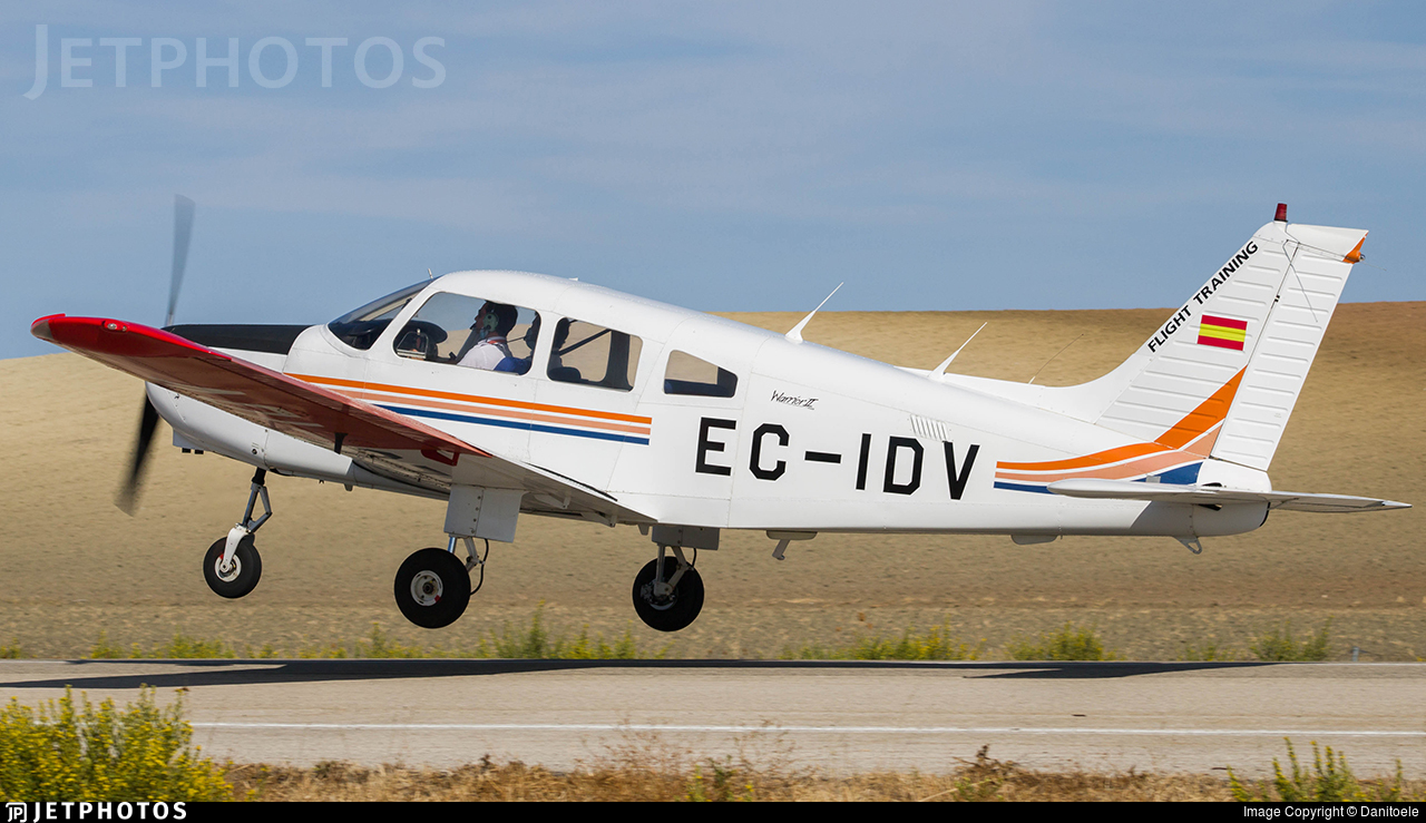 EC-IDV - Piper PA-28-161 Warrior II - FTE Jerez