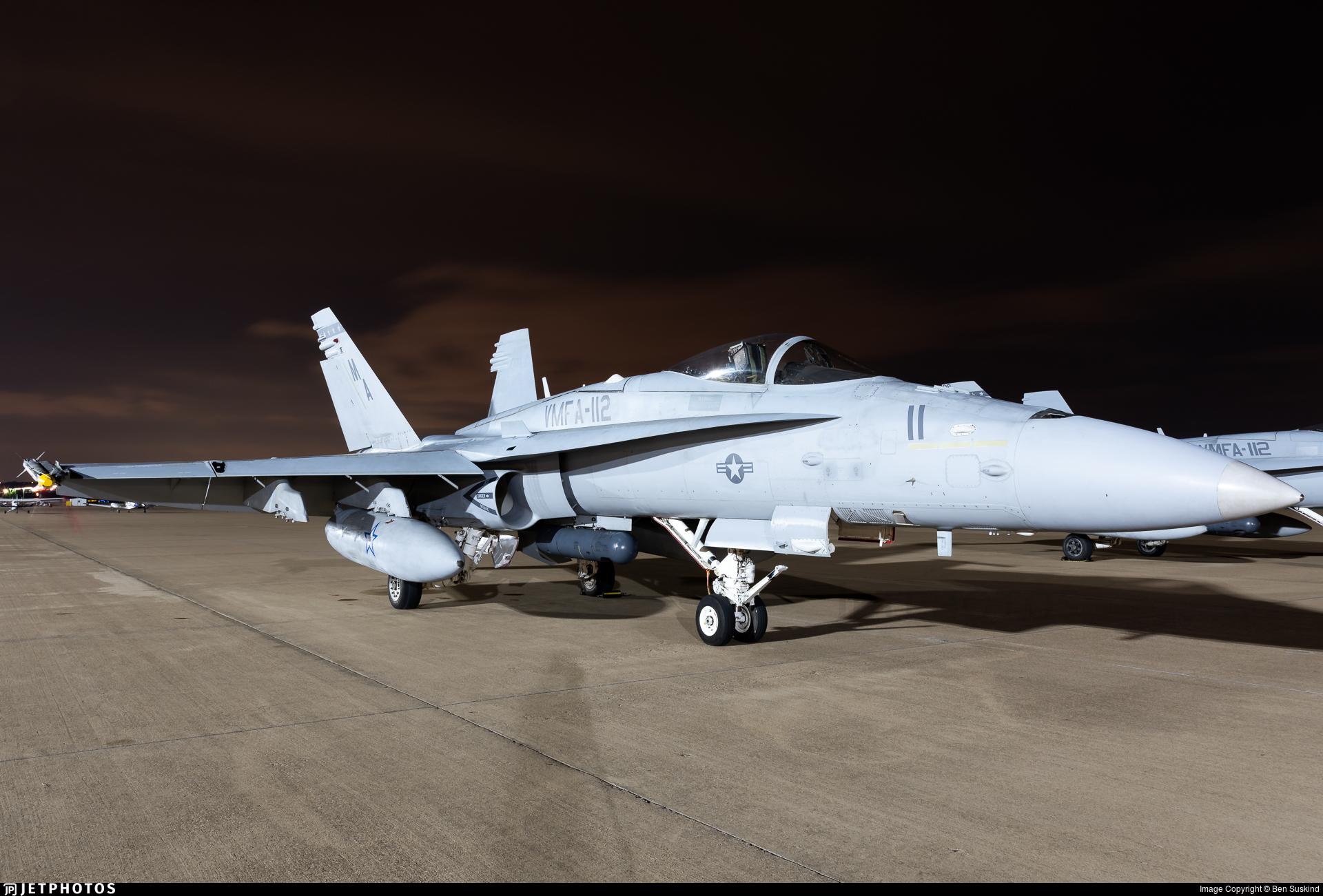 163709 - McDonnell Douglas F/A-18C Hornet - United States - US Marine Corps (USMC)