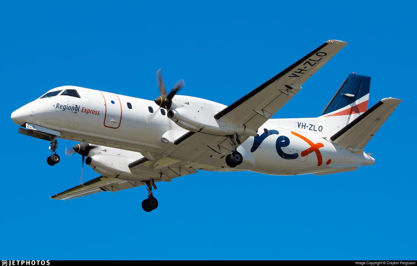 VH-ZLO - Saab 340B - Regional Express (REX)
