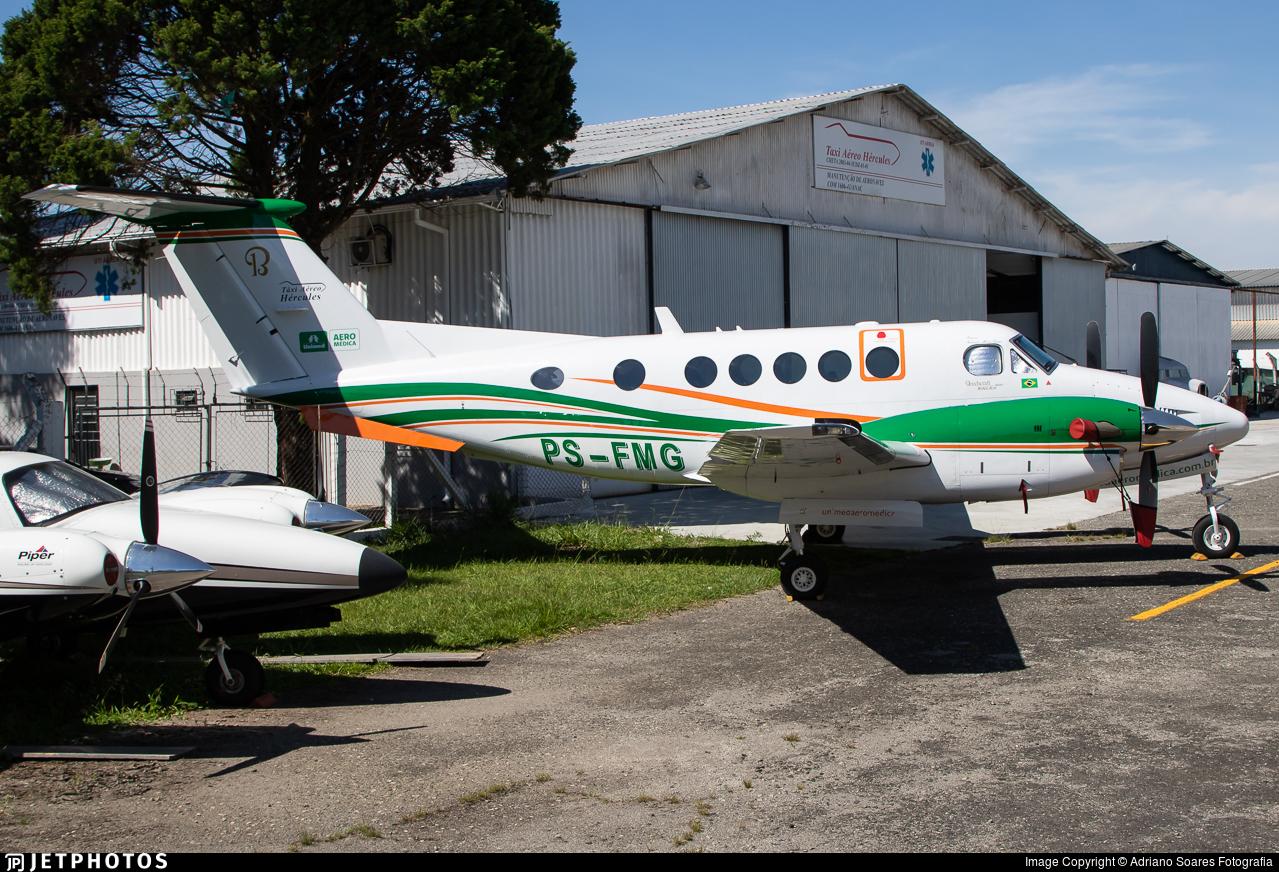 PS-FMG - Beechcraft B200 Super King Air - Táxi Aéreo Hércules