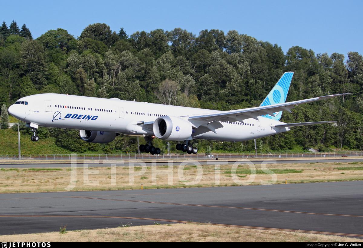 N779XY - Boeing 777-9 - Boeing Company