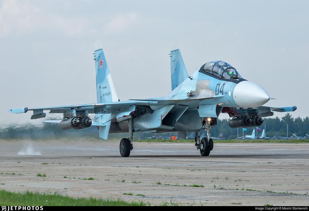 RF-93686 - Sukhoi Su-30SM - Russia - Air Force