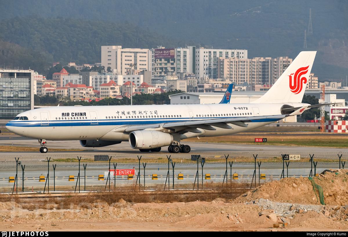 B-6072 - Airbus A330-243 - Air China