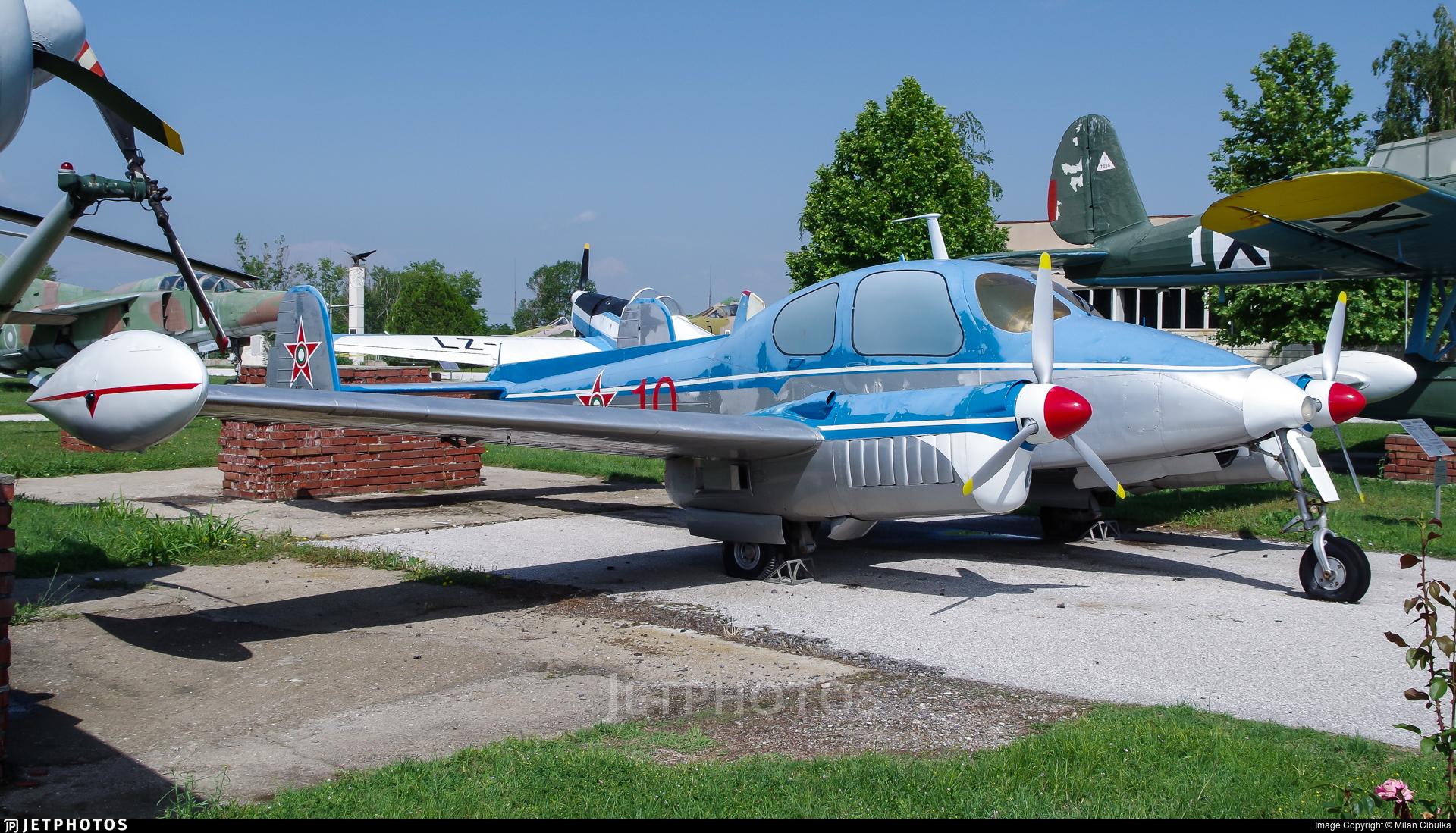 10 - Let L-200D Morava - Bulgaria - Air Force