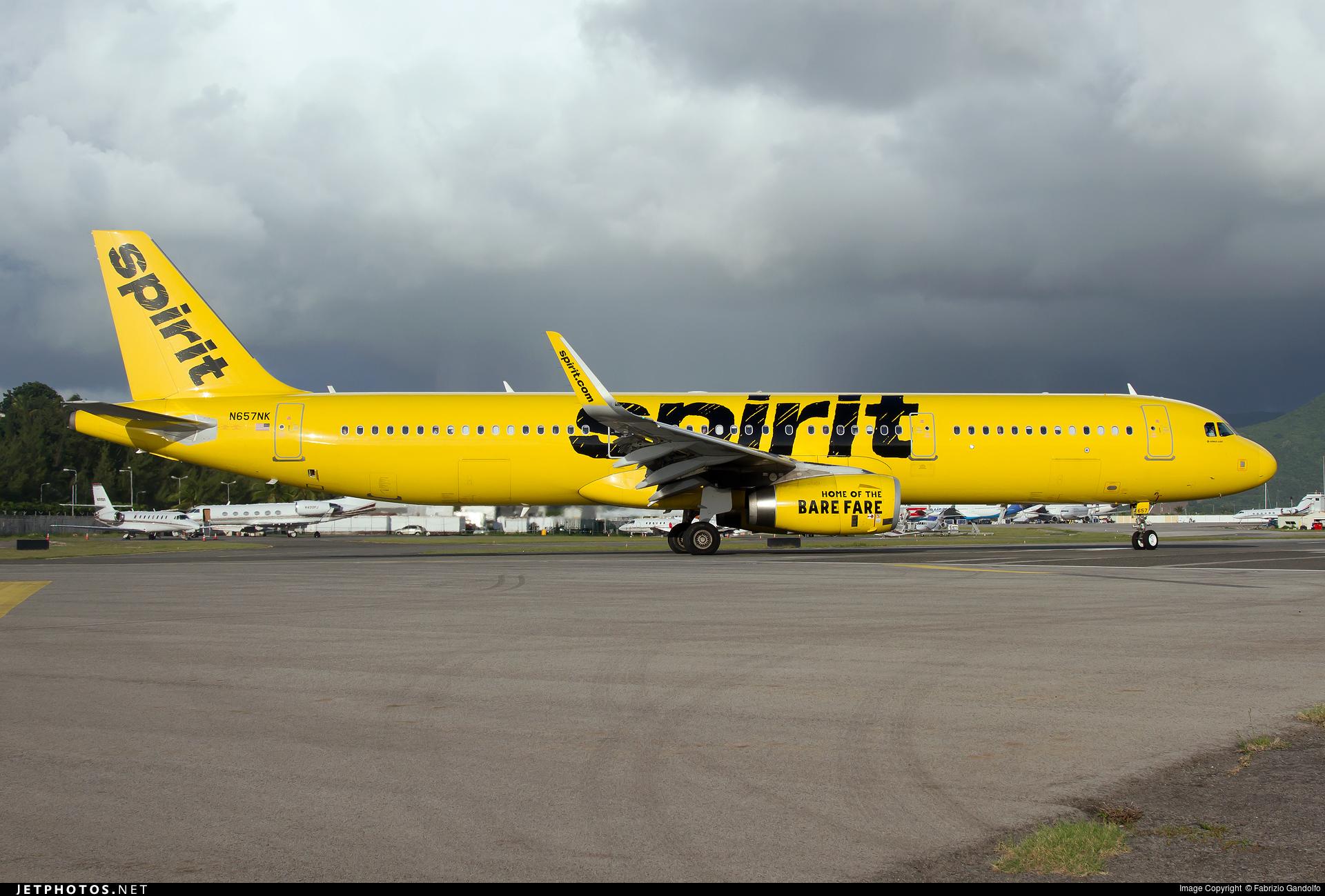 N657NK | Airbus A321-231 | Spirit Airlines | Fabrizio ...
