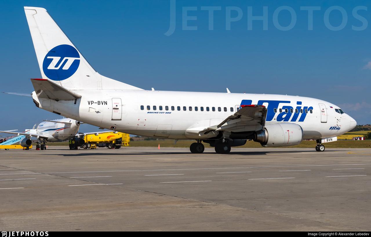 VP-BVN - Boeing 737-524 - UTair Aviation