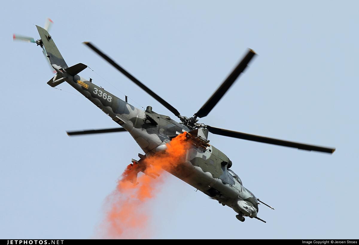 3368 - Mil Mi-35M Hind - Czech Republic - Air Force
