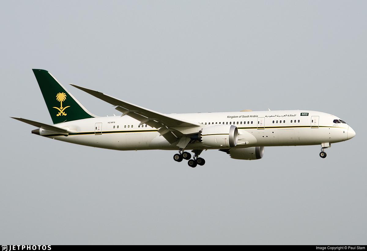HZ-MF8 - Boeing 787-8(BBJ) Dreamliner - Saudi Arabia - Ministry of Finance