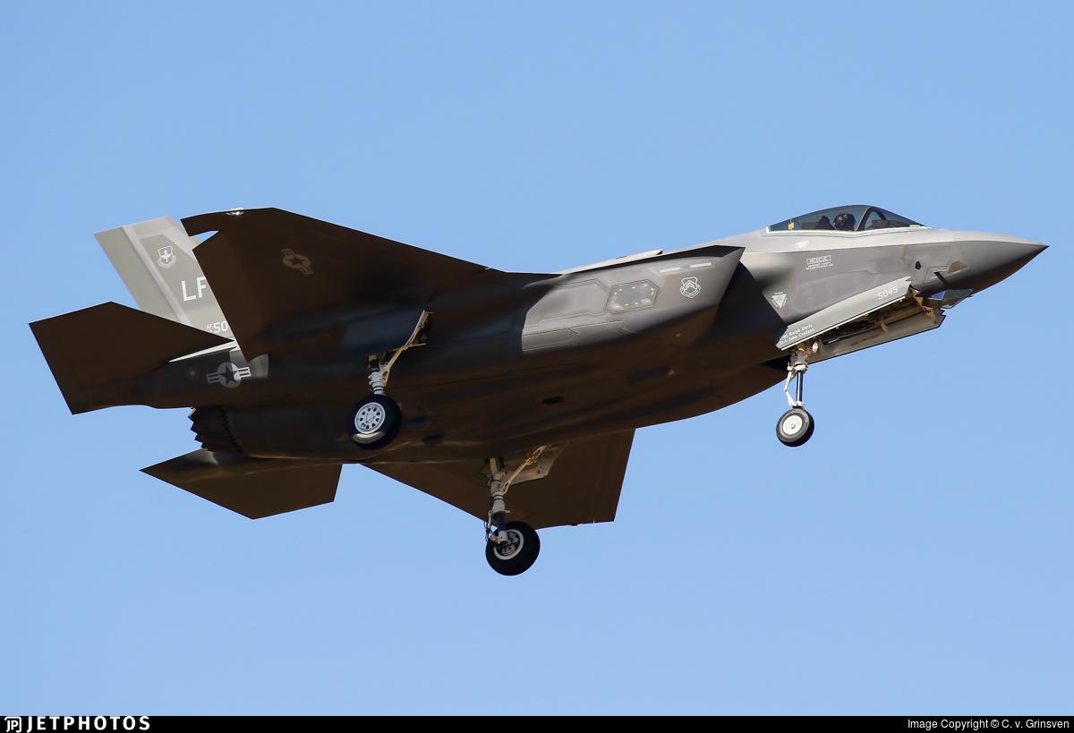 12-5045 - Lockheed Martin F-35A Lightning II - United States - US Air Force (USAF)