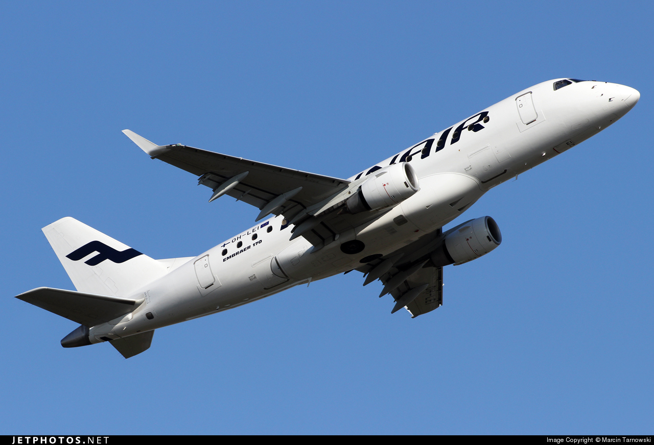 OH-LEI - Embraer 170-100STD - Finnair