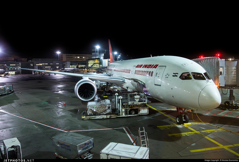 VT-ANB - Boeing 787-8 Dreamliner - Air India