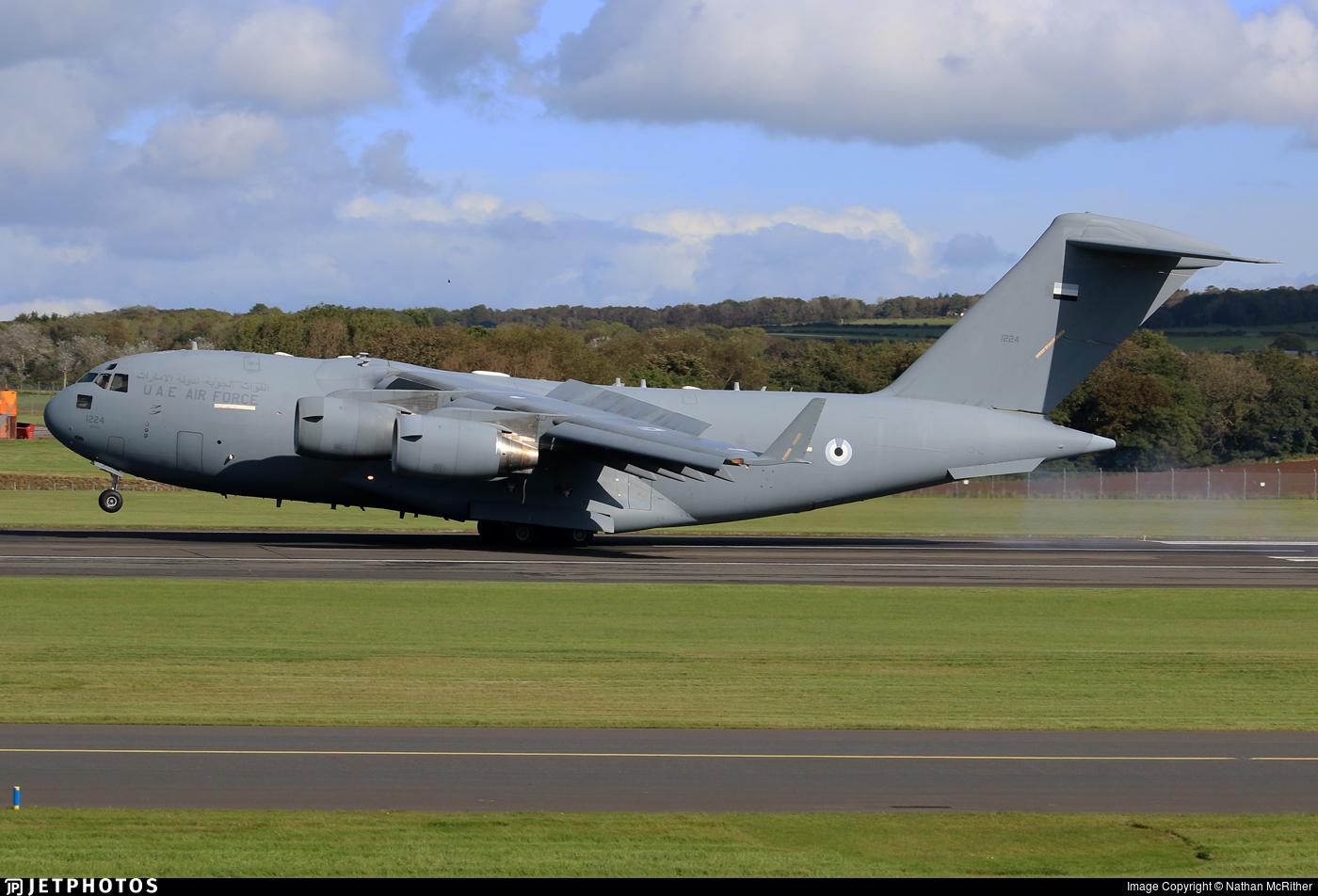 1224 - Boeing C-17A Globemaster III - United Arab Emirates - Air Force