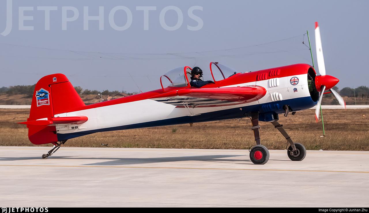 VH-XSZ - Yakovlev Yak-55M - Private