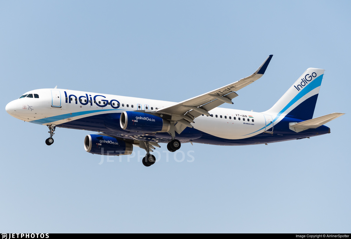 VT-IAN | Airbus A320-232 | IndiGo Airlines | AirlinerSpotter ...