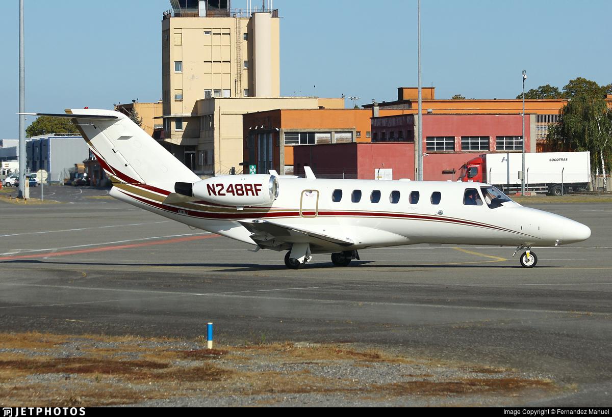 N248RF - Cessna 525A CitationJet 2 - Private