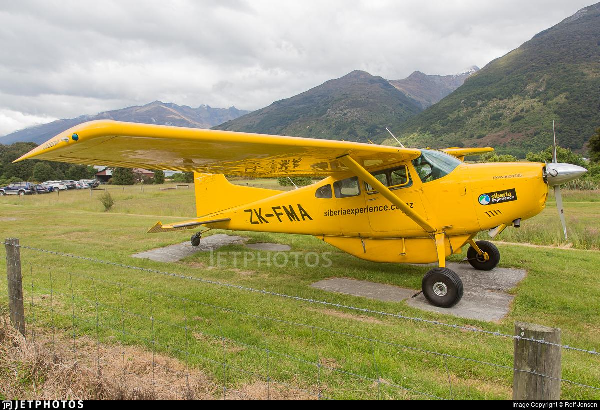 ZK-FMA - Cessna 185 Skywagon - Southern Alps Air