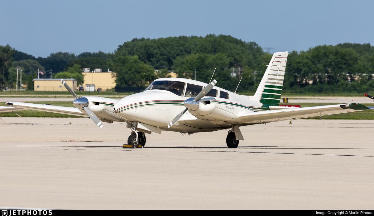 N2428P - Piper PA-39-160 Twin Comanche C/R - Private