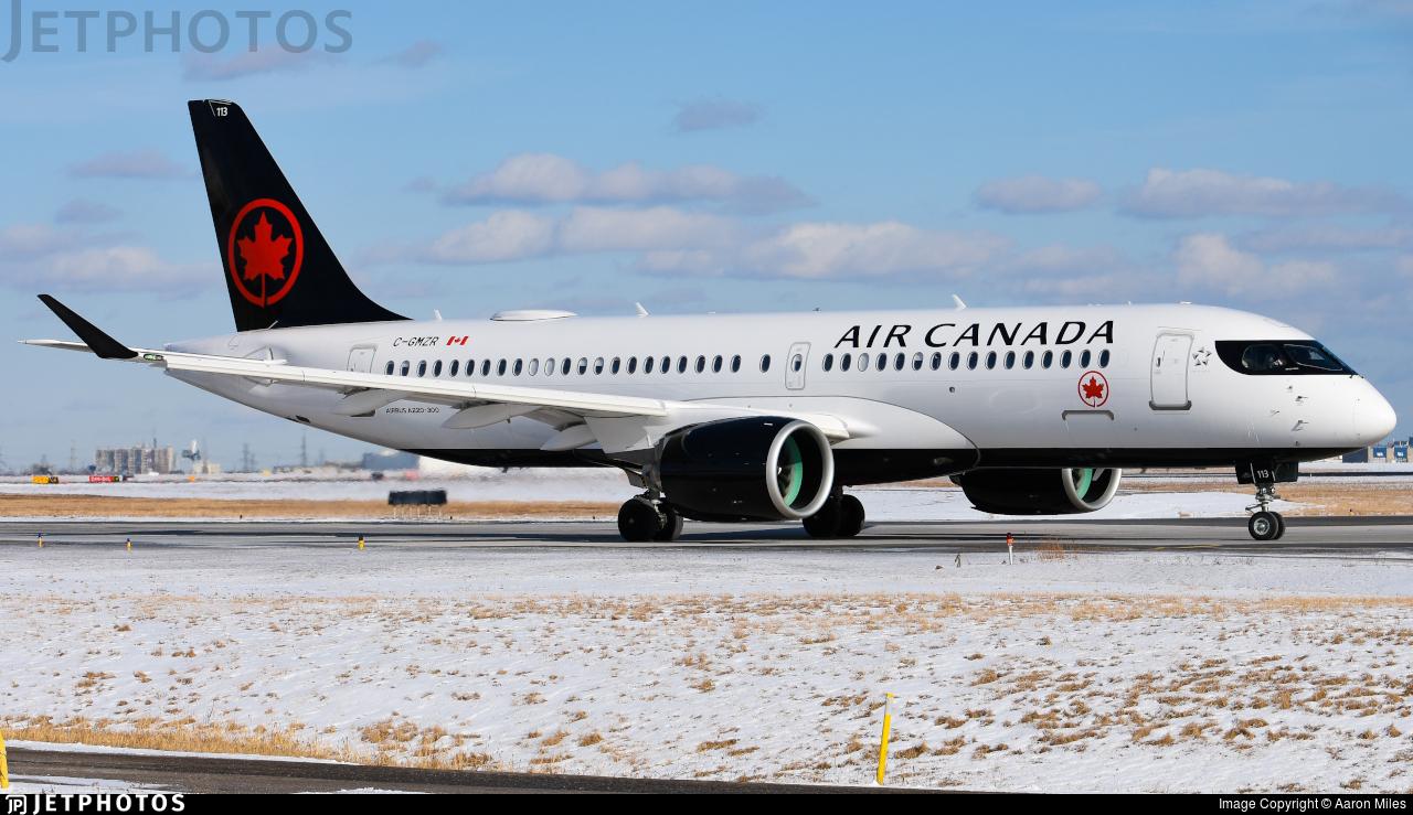 C-GMZR - Airbus A220-371 - Air Canada