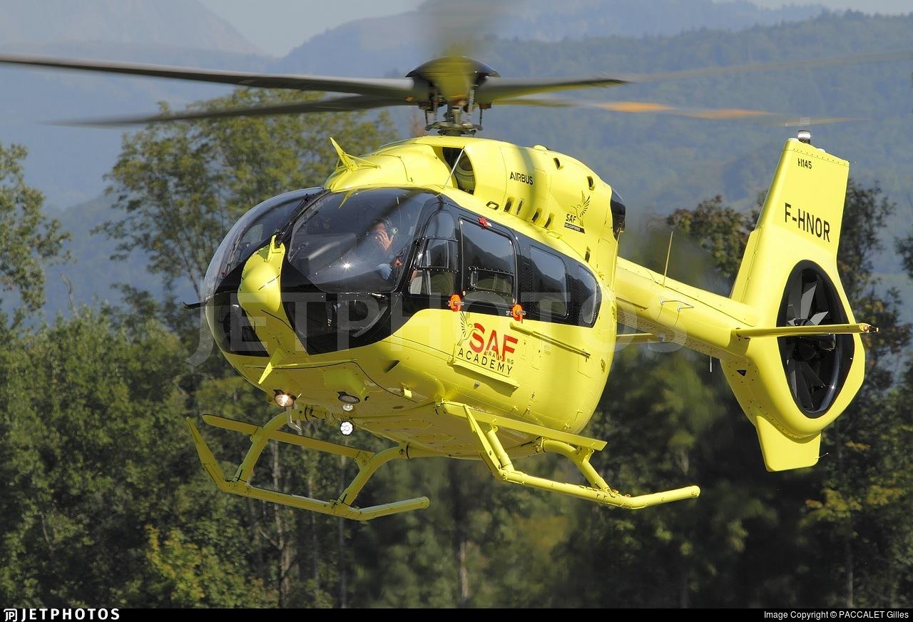F-HNOR - Airbus Helicopters H145 - SAF Hélicoptères - Service Aérien Français