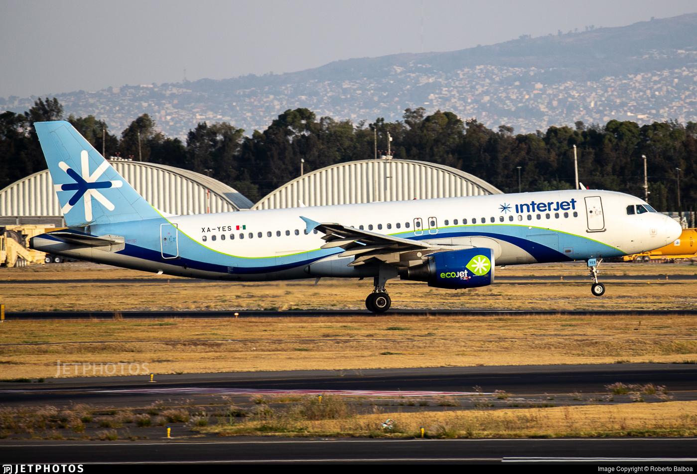 XA-YES - Airbus A320-214 - Interjet