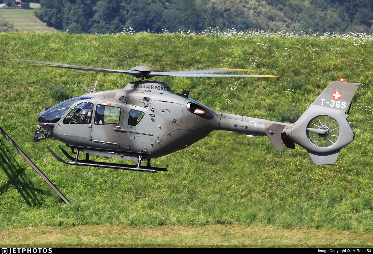 T-365 - Eurocopter EC 635P2+ - Switzerland - Air Force