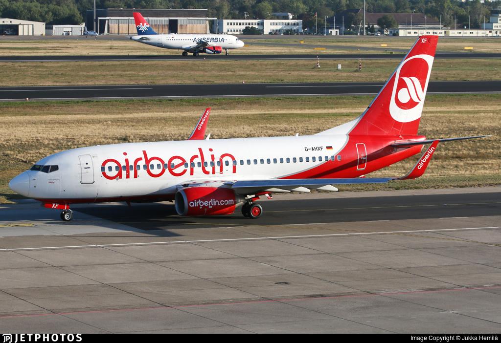 D-AHXF - Boeing 737-7K5 - Air Berlin