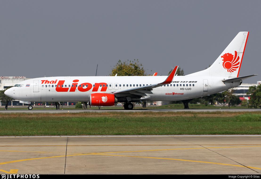 HS-LUO - Boeing 737-8GP - Thai Lion Air