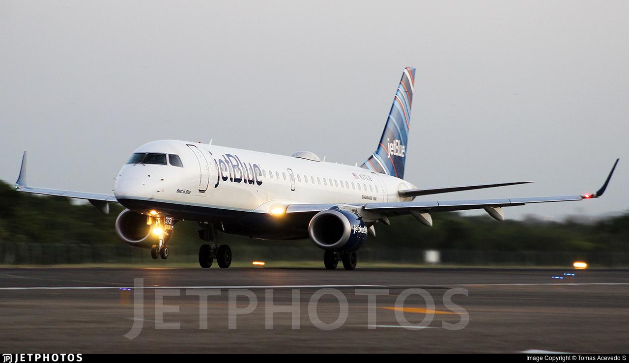N373JB - Embraer 190-100IGW - jetBlue Airways