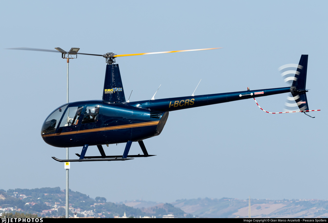 I-BCRS - Robinson R44 Raven II - Eurotech Helicopter Services