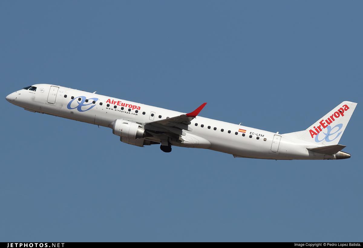 EC-LKM - Embraer 190-200LR - Air Europa