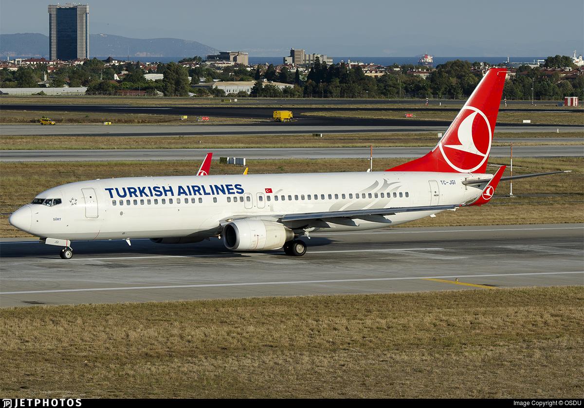 TC-JGI - Boeing 737-8F2 - Turkish Airlines