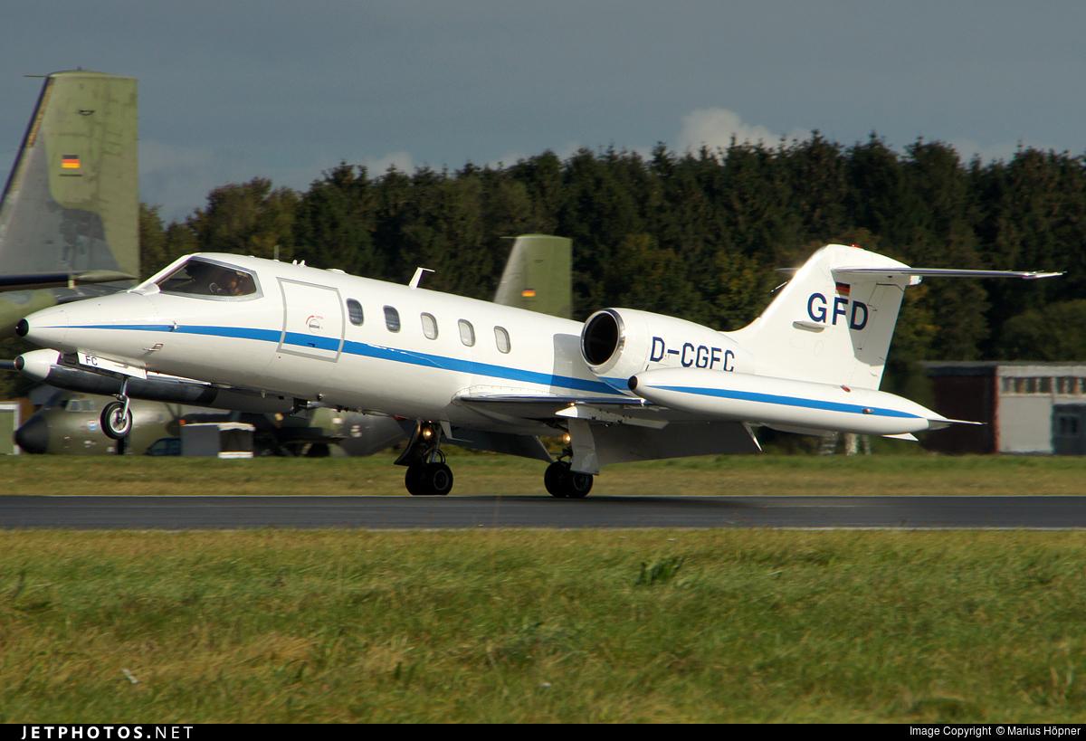 D-CGFC - Bombardier Learjet 35A - Gesellschaft für Flugzieldarstellung (GFD)
