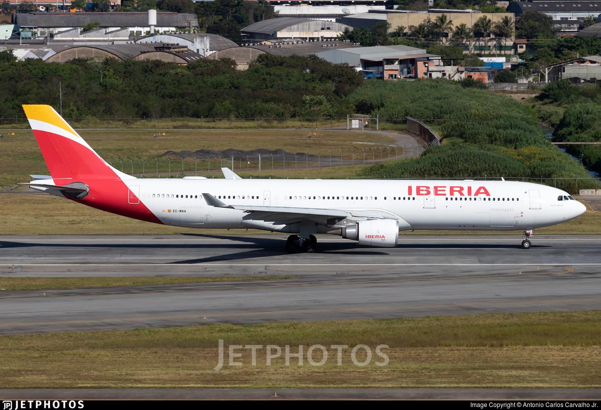 EC-MAA - Airbus A330-302 - Iberia