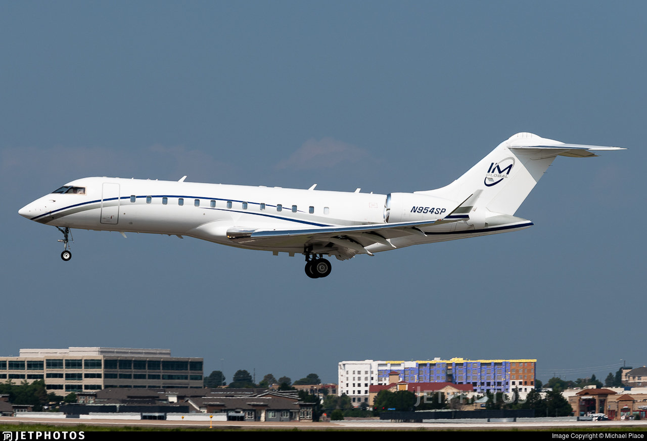 N954SP - Bombardier BD-700-1A10 Global Express - Private