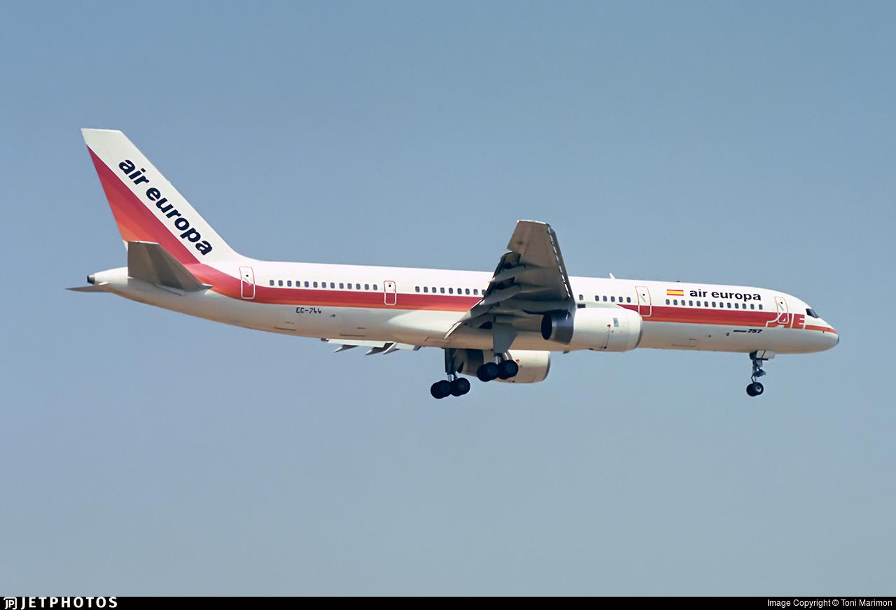 EC-744   Boeing 757-236   Air Europa   Toni Marimon   JetPhotos