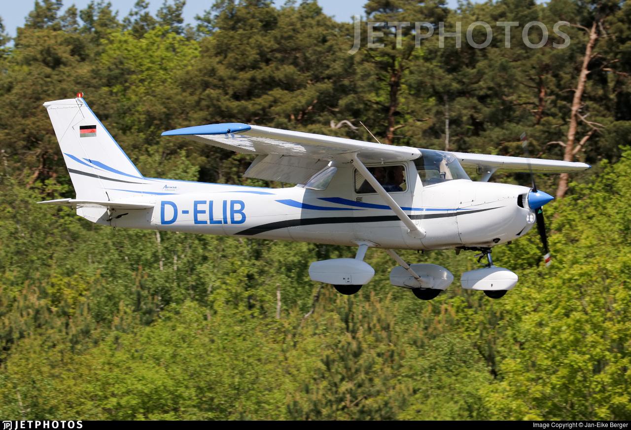 D-ELIB - Reims-Cessna F150M - Aeroclub Damme
