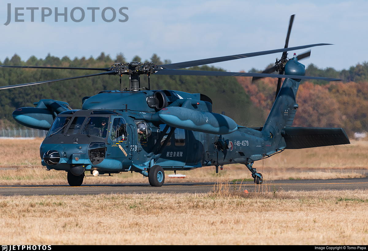 48-4579 - Mitsubishi UH-60J - Japan - Air Self Defence Force (JASDF)