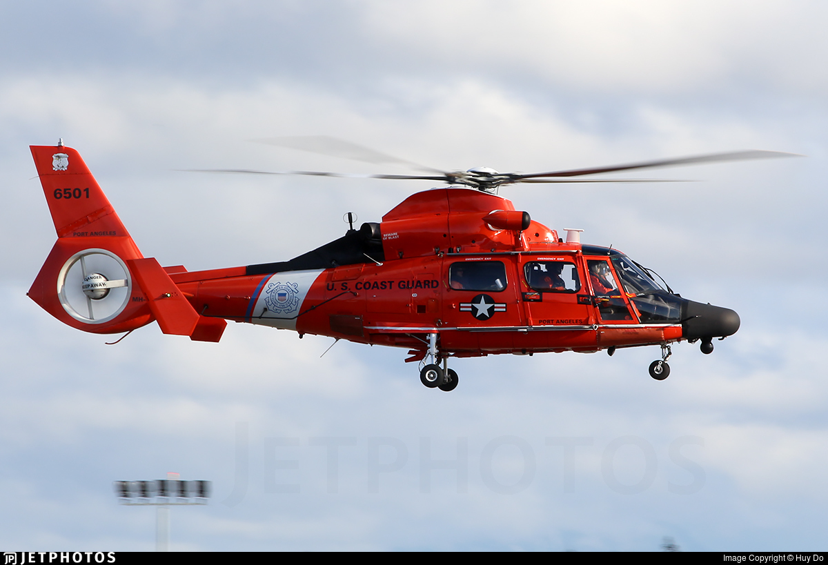 6501 - Aérospatiale MH-65D Dolphin - United States - US Coast Guard (USCG)
