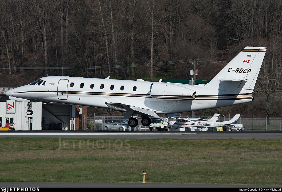 C-GDCP - Cessna 680 Citation Sovereign - Private