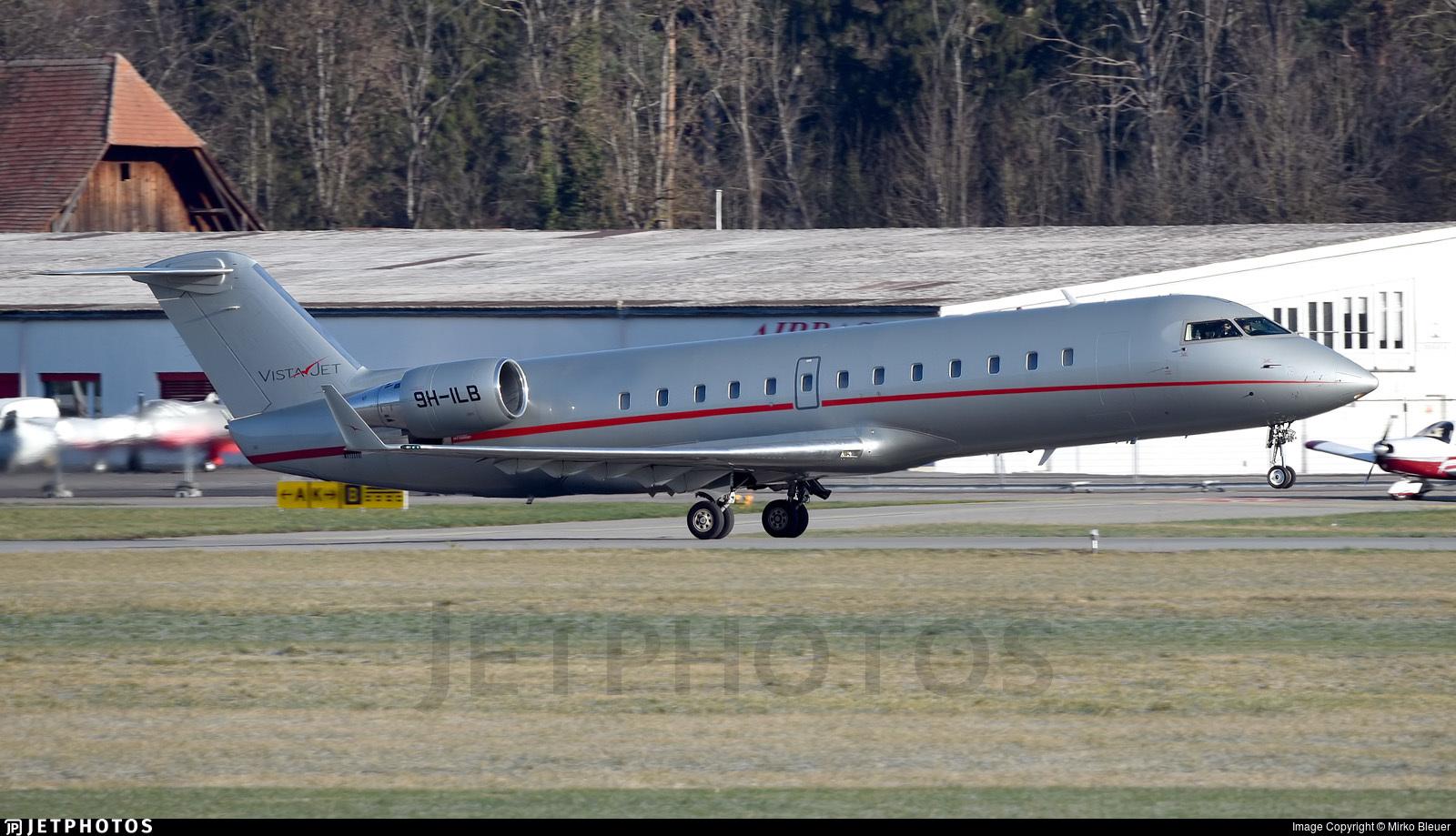 9H-ILB - Bombardier CL-600-2B19 Challenger 850 - VistaJet