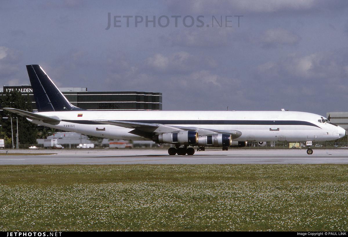 YV-810C - Douglas DC-8-51(F) - Midas Air Lines
