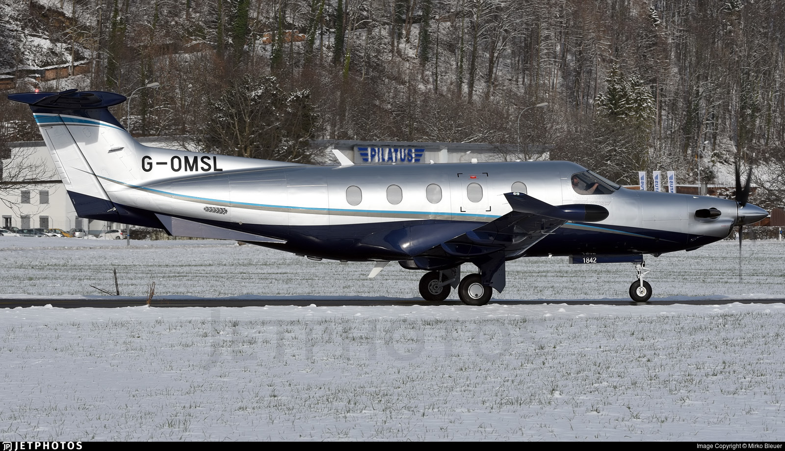 G-OMSL - Pilatus PC-12/47E - Private